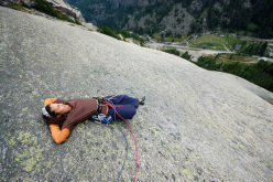 Two new routes by Maurizio Oviglia for...his daughters