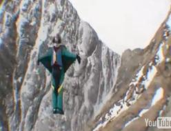 Baffin Island BASE jump