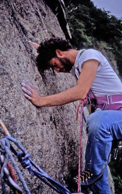 Caprie 1983 - Cino Laudi alla Parete di Eriador