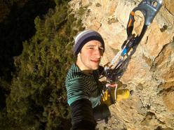 Matteo Pavana in azione