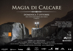 The film Magia di Calcare (Magic of Limestone) by Roberto Parisse