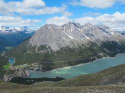 Lago di Cancano e Cime di Plator