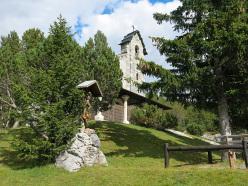 La chiesetta di Cancano