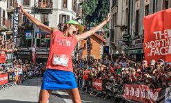 Rory Bosio wins the Ultra Trail du Mont Blanc 2014