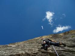 Dolomites climbing: Via Roberta 83, Piz Ciavazes