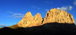 Modulo roccia in Dolomiti: Sasso Lungo