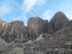 Cima bassa d'Ambiez, Val d'Ambiez, Dolomiti di Brenta