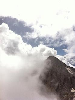Le nebbie viste dalla Cima d'Ambiez, Val d'Ambiez, Dolomiti di Brenta