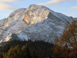 Wetterbockwand, Alpi di Berchtesgaden, Austria.