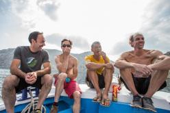 Deep Water Solo: Jean-Baptiste Tribout, Ben Moon, Yuji Hirayama, Boone Speed