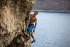 Deep Water Solo: Eneko Pou at Vathi, Kalymnos
