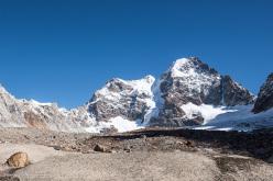 Shiepra 5885m (first ascent 16/09/2014, Dres Abegglen, Thomas Senf, Stephan Siegrist)Kishtwar, Himalaya