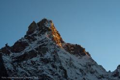Kharagosa 5840 (first ascent Dres Abegglen, Thomas Senf, Stephan Siegrist, 21/09/2014) Kishtwar, Himalaya