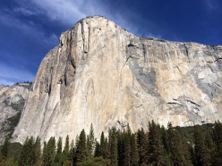 El Capitan, the symbol of Yosemite valley