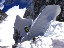 Saumons et Glacons di Enrico Bonino, Luca Breveglieri and Olivier Colaye, Combe Maudit, Mont Blanc