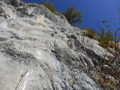 Pitch 6 of Superavanzi, Pilastro dei Barbari, Valsugana
