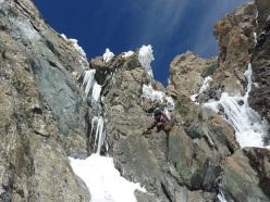 Monte Disgrazia, diretta sud