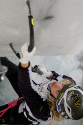 Angelika Rainer, Ice World Cup Saas Fee 2009