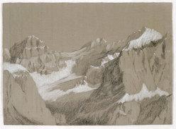 Conturines, Dolomiti. Pastello 66x48.2