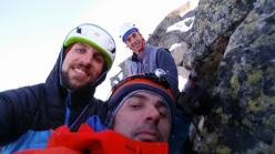 Diretta Solitudine: i primi ripetitori Marco Bernardi, Luca Caldini e Manuel Zambanini