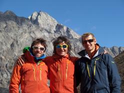 Vittorio Messini, Simon Gietl e Daniel Tavernini