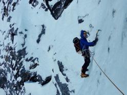Domen Kastelic: la parete di ghiaccio