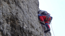 Generazioni a Confronto: Diego Pezzoli attempting the fifth pitch