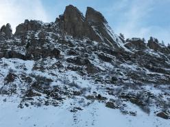 Cima Denti della Vecchia in Val Gerola, Italy