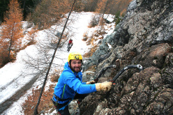 Drytooling at Shampoo Dry, Champorcher, Valle d'Aosta