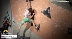 Adam Ondra vince il La Sportiva Legends Only 2014