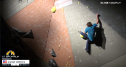 Daniel Woods al La Sportiva Legends Only 2014