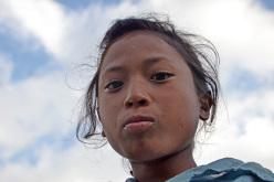 Tamang children