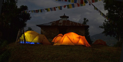 Last night in the tent, Rolwaling, Nepal