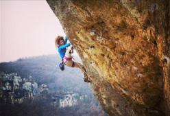 La climber torinese Sara Grippo su Odore dei sogni a Lumignano