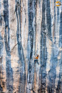 Petzl RocTrip 2014: Sam Beaugey climbing at Citdibi in Turkey
