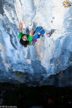 Petzl RocTrip 2014: Mummin Karabas at Citdibi in Turkey
