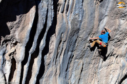 Petzl RocTrip 2014: Cedric Lachat a Citdibi in Turchia