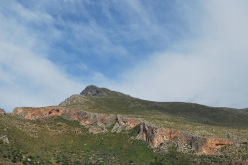 The crags dotted around San Vito lo Capo, Sicily
