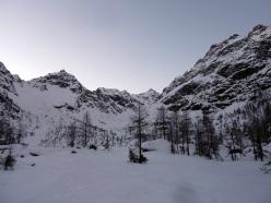"""Avvicinamento via dei """"Corvi"""" alla Punta della Speranza o Quota 3483 al Monte Disgrazia"""