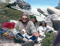 Valley Uprising - John Bachar, Mike Graham e Ron Kauk in cima a The Shield, El Capitan, Yosemite 1976