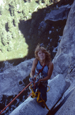 Valley Uprising - Lynn Hill su Half Dome, Yosemite 1977