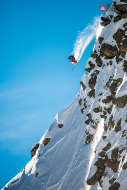 During the Swatch Freeride World Tour by The North Face