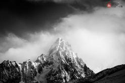 Aiguille du Chardonnet, Monte Bianco