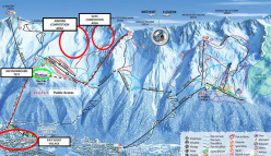 The Chamonix competition slope