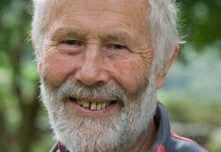 British mountaineer Sir Chris Bonington.