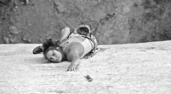 Argyro Papathanasiou sale Au revoir 8b+/8c a Spilia Daveli, Atene, Grecia