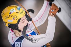 Angelika Rainer: Campionato del Mondo di arrampicata su ghiaccio 2015