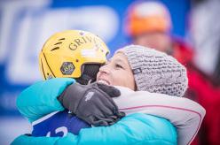 Angelika Rainer e Barbara Zwerger: Campionato del Mondo di arrampicata su ghiaccio 2015