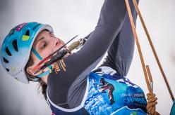 Marianne Van der Steen: Campionato del Mondo di arrampicata su ghiaccio 2015