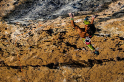 Sachi Amma ripete Fight or Flight 9b ad Oliana, Spagna. Questa è la terza salita dopo Chris Sharma, Adam Ondra e Jakob Schubert.